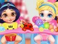 Jogos Messy Baby Princess Cleanup